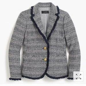 J Crew Lady Jacket with fringe blazer ✅Offers